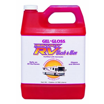 Picture of Gel-Gloss  128 oz RV Wash & Wax WW-128.B 13-1803