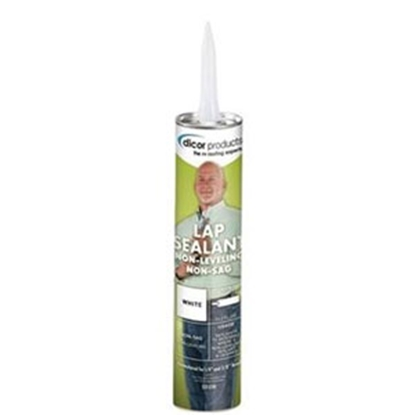 Picture of Dicor  Black 10.3 Oz Tube Non-Sag Roof Sealant 551LSB-1 13-3077