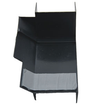 """Picture of AP Products  4-1/2"""" Lx2-1/2"""" Wx2"""" Th RH Notched Slide Out Corner Guard 018-1161-RH 13-5767"""