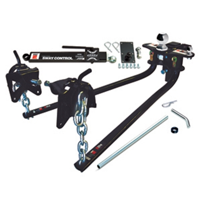 "Picture of EAZ-Lift  1000 Lb Round Bar Weight Distribution Hitch w/Shank & 2-5/16"" Ball 48058 14-0133"