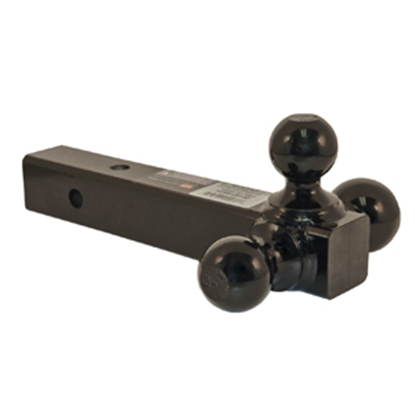 "Picture of B&W Hitches Ball Mount Class III 2"" 3.5/7.5K/10K 12""L Ball Mount w/ Triple Ball BMTT31004 14-0512"