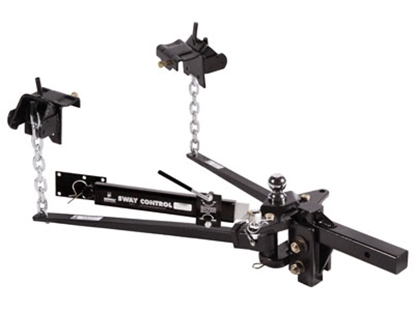 """Picture of Husky Towing  800 Lb Trunnion Bar Weight Distribution Hitch w/10"""" Shank & Ball 31620 14-1072"""