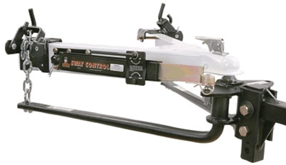 "Picture of Husky Towing  600 Lb Round Bar Weight Distribution Hitch w/10"" Shank & 2-5/16"" Ball 31986 14-1466"
