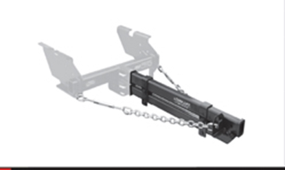 "Picture of Torklift SuperHitch 24"" Hitch Receiver Extension for SuperHItch Series E1524 14-2023"