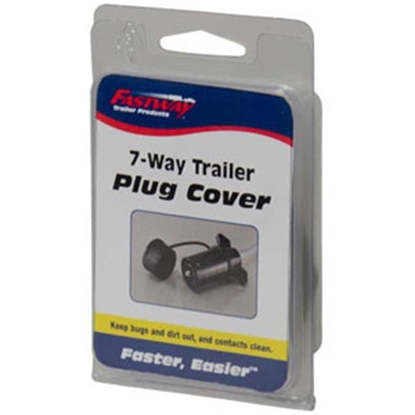 Picture of Fastway  7 Way Trailer Plug Cover (Bulk) 82-01-3318 14-3165
