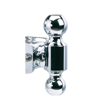 "Picture of B&W Hitches Pintle Ball Chrome 2"" Trailer Hitch Ball TS10051 14-3349"