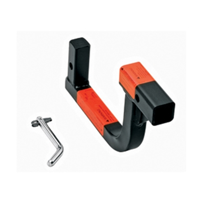 """Picture of Draw-Tite Invisi-Hitch 10-3/8"""" Hitch Receiver Tube with 3-1/2"""" Rise 28351 14-7686"""