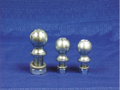 "Picture of Tow-Ready  Zinc 2-5/16"" Trailer Hitch Ball w/ 1-1/4"" Diam x 2-3/4"" Shank 63835 14-8621"