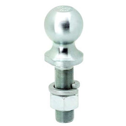 "Picture of Tow-Ready  Zinc 2"" Trailer Hitch Ball w/ 1"" Diam x 3-3/8"" Shank 63850 14-8634"