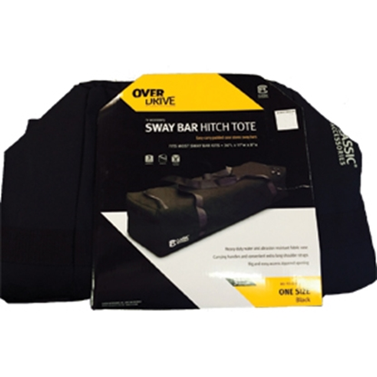 Picture of Classic Accessories  Black Polyester Tow Bar Cover 80-113-010401-00 14-9337