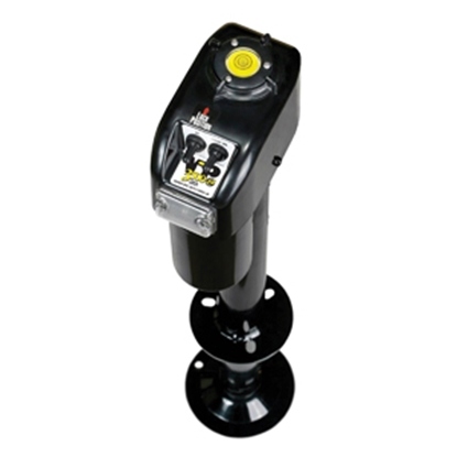 Picture of Barker VIP 3500 Power Black 3500 Lb A-Frame Electric Tongue Trailer Jack 32454 15-0114