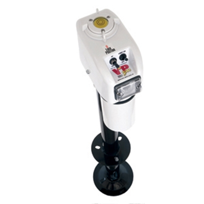 Picture of Barker VIP 3000 Power White 3000 Lb A-Frame Electric Tongue Trailer Jack 30826 15-0143