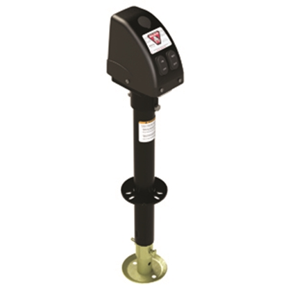 Picture of Bulldog-Fulton  Black 3500 Lb A-Frame Powered Drive Trailer Jack 500187 15-0164