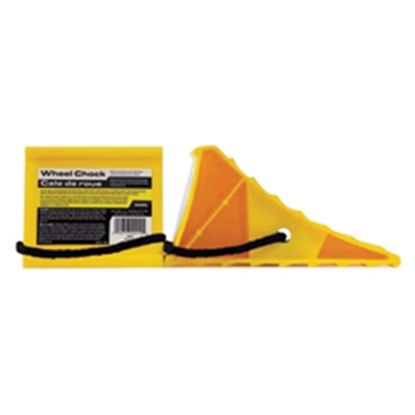 Picture of Camco  Single Yellow Hard Plastic Wheel Chock 44472 15-0249