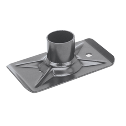 """Picture of Dometic  Steel Trailer Jack Foot for 2"""" Inner Tube 82650 15-0265"""