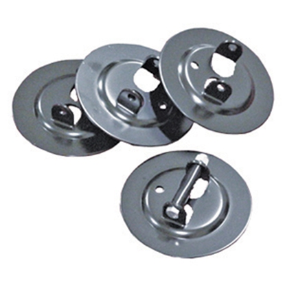 "Picture of BAL  4-Pack 6"" Diam Trailer Stabilizer Jack Pad 23035 15-0279"