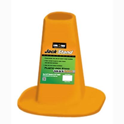 "Picture of Level-Trek  Plastic 8.63"" x 8-1/4"" Trailer Jack Foot for 10000 Pounds Jack LT-80107 15-0393"