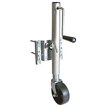 Picture of Ultra-Fab  1000 Lb Round Sidewind/Swivel Marine Trailer Jack 49-954034 15-0421