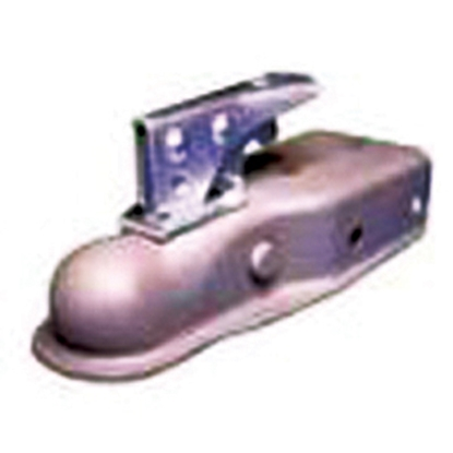 "Picture of Bulldog-Fulton Fas-Lok (R) 3,500 lb 3"" Channel 2"" Ball Straight Coupler 22300 0317 15-0574"