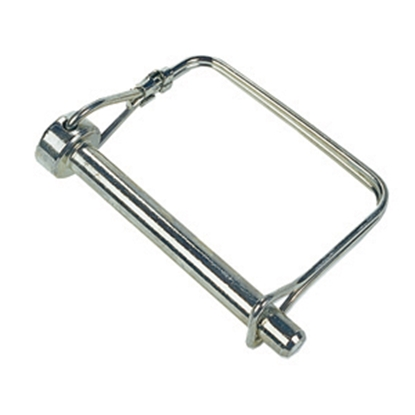 "Picture of JR Products  1/4"" x 3-1/2"" Steel Safety Lock Pin 01214 15-0742"