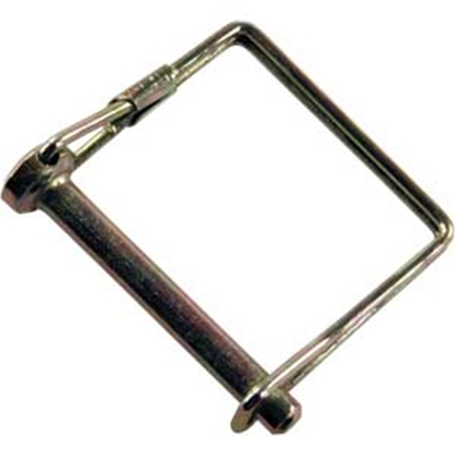 """Picture of JR Products  1/4"""" x 3-1/4"""" Steel Safety Lock Pin 01224 15-0743"""