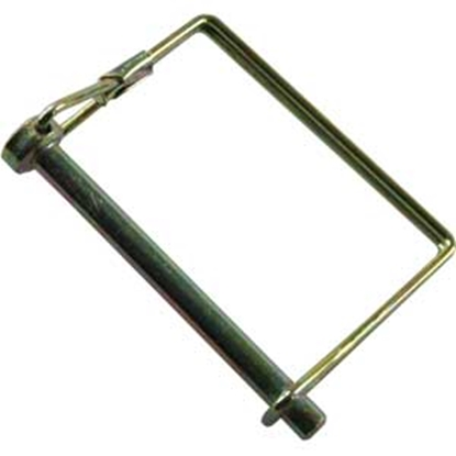 """Picture of JR Products  1/4"""" x 2-1/2"""" Steel Safety Lock Pin 01274 15-0747"""