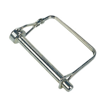 "Picture of JR Products  1/4"" x 2"" Steel Safety Lock Pin 01294 15-0759"