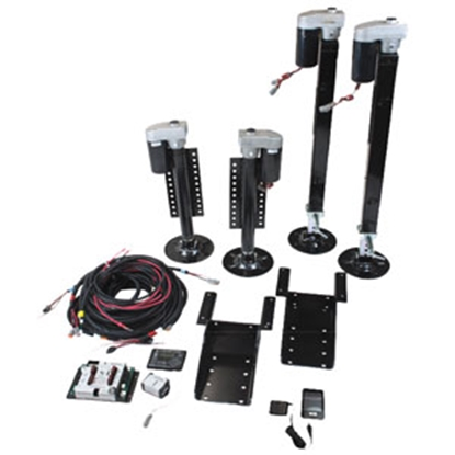 Picture of Kwikee Ground Control 20K Fifth Wheel Kit Ground Control Leveling System 358590 15-0806