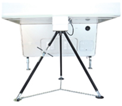 """Picture of BAL Standard Tripod 44""""-50"""" Adjustable Fifth Wheel King Pin Stabilizer 25033 15-0938"""