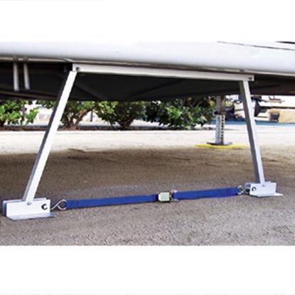 "Picture of Valterra RV Stabilizer 14""-28"" Manual Trailer Stabilizer Jack 020106 15-0964"