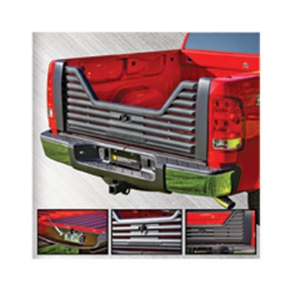 Picture of Stromberg Carlson 4000 Series Lockable Glass Filled Composite V-Shaped Louvered Vented Tailgate for 2004-2011 Ford VG-04-4000