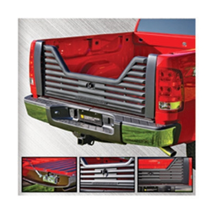 Picture of Stromberg Carlson 4000 Series Lockable Glass Filled Composite V-Shaped Louvered Vented Tailgate for 2007-2011 GM VGM-07-4000