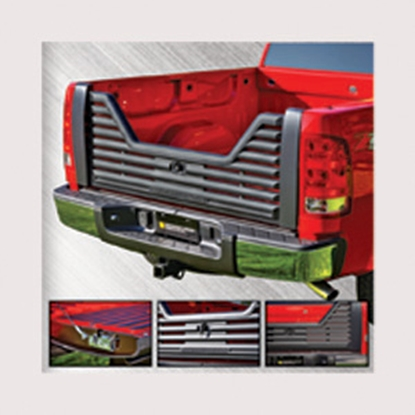 Picture of Stromberg Carlson 4000 Series Lockable Glass Filled Composite V-Shaped Louvered Vented Tailgate for 2010-2011 Dodge VGD-10-40