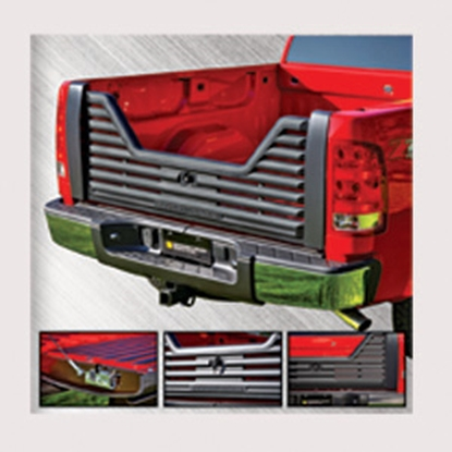 Picture of Stromberg Carlson 4000 Series Lockable Glass Filled Composite V-Shaped Louvered Vented Tailgate for Toyota 2002 1500 VGT-70-4