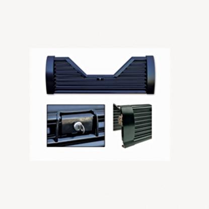 Picture of Custom Flow Tailgates Elite(TM) Lockable Steel V-Shaped Louvered Flo Thru Tailgate for 1987-1997 Ford V-EL20 15-1150