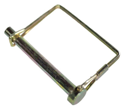 """Picture of JR Products  1/4"""" x 3-1/2"""" Steel Safety Lock Pin 01211 15-1493"""