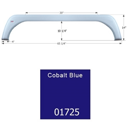 Picture of Icon  Cobalt Blue Tandem Axle Fender Skirt For KZ Brands 01725 15-1648