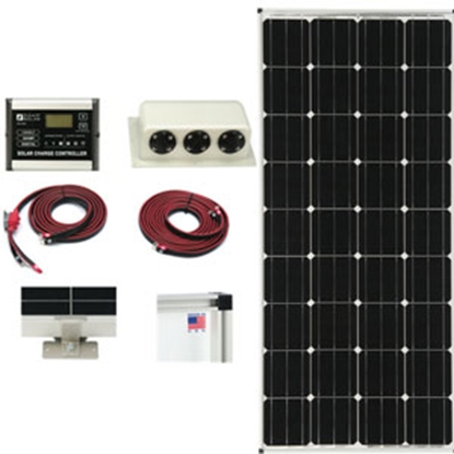 Picture of Zamp Solar  160W 8.9A Portable Solar Kit ZS-160-30A-DX 15-1767