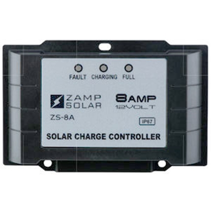 Picture of Zamp Solar  135W 8A Battery Charger Controller for Gel-Cell/AGM/Conventional Lead Acid WET/Calcium Batteries ZS-8AW 15-1782