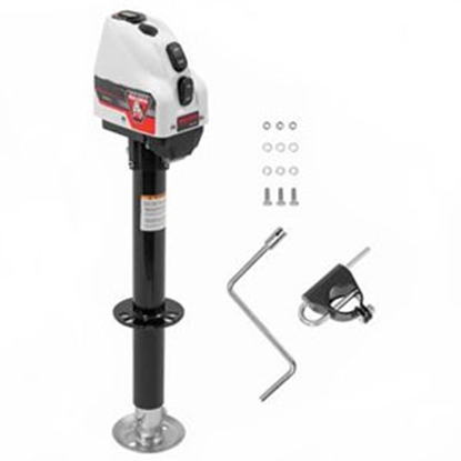 Picture of Bulldog-Fulton  White 4000 Lb A-Frame Powered Drive Trailer Jack 500200 15-4363