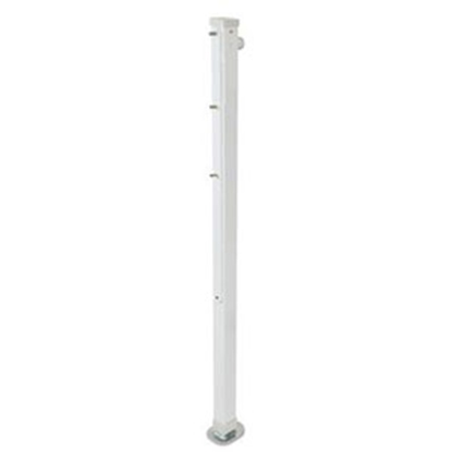 "Picture of Happijac Happijac Single 34-1/2"" 1500 Lb White Mechanical Camper Jack 308169 15-7036"
