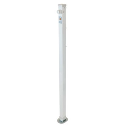 "Picture of Happijac Happijac Single 34-1/2"" 1900 Lb White Mechanical Camper Jack 308170 15-7037"