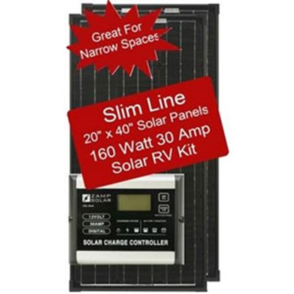 Picture of Zamp Solar  160W 8.9A Portable Solar Kit ZS-160-30AD-DX 15-7090