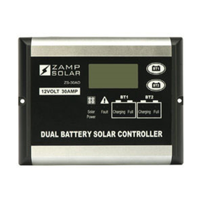 Picture of Zamp Solar  Digital 500W 30A Battery Charger Controller for Zamp Solar 12V Batteries ZS-30AD 15-7096