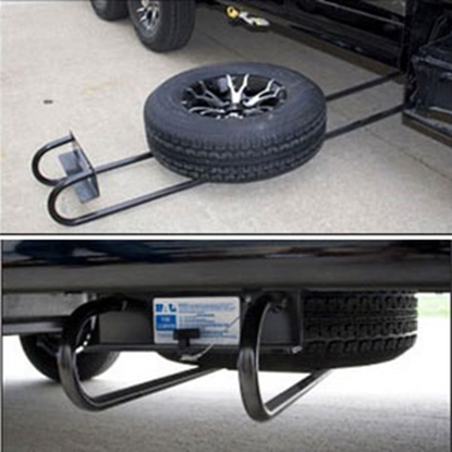 Picture of BAL Hide-A-Spare Underslung Mount Tire Carrier 28216B 16-0045