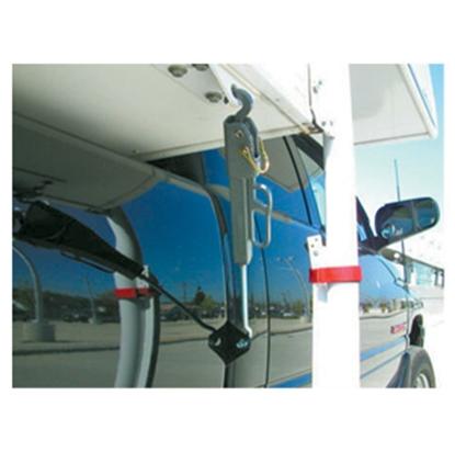 "Picture of Torklift FastGun .45 2-Pack 14.5"" To 21.5"" Steel Spring Loaded Hook & Hook Turnbuckle S9521 16-0528"