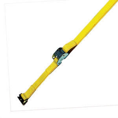 "Picture of Pacific Cargo  2"" x 12' Yellow Tie Down Strap 2360-12-SE 16-0691"