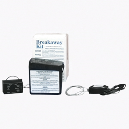 Picture of Tekonsha Shur-Set lll (R) Breakaway System Trailer Breakaway Kit w/Battery Charger for 1-4 Axles 2028 17-0211