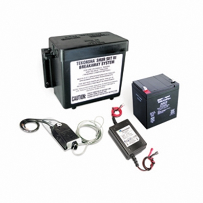 Picture of Tekonsha Shur-Set III Trailer Breakaway Kit w/Battery Charger for 1-4 Axles 20015 17-0213
