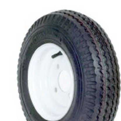 Picture of Americana Loadstar K371 Wheel/Tire, Loadstar K371, ST480-8 C, 4H-4, White 30040 17-0251